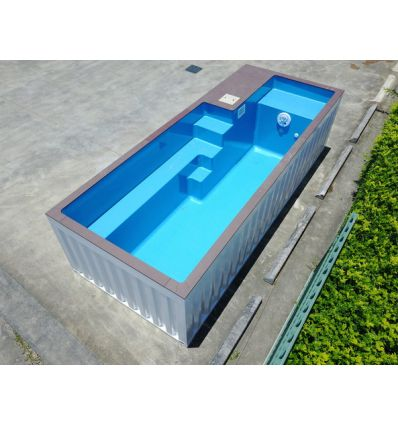 Container piscine