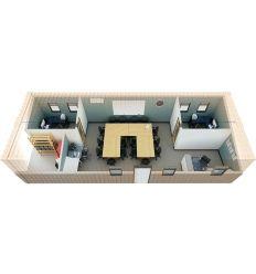 Container salle briefing et bureaux