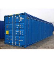 Container 40' Open Top occasion reconditionné (Ext traité repeint)