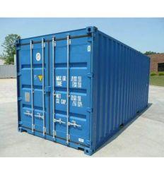 Location de container 20' Dry shutlock + 3 clés fournis