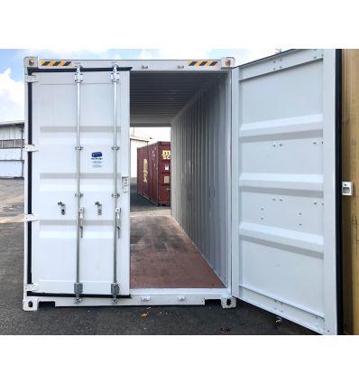 Conteneur 20 pieds High Cube Double Door