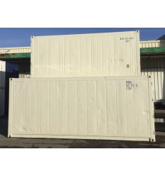 Container 20' reefer occasion sans groupe, reconditionné