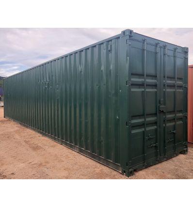 Container 40' High cube reconditionné (Ext traité repeint)