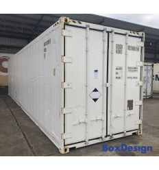 Container 40' reefer occasion sans groupe