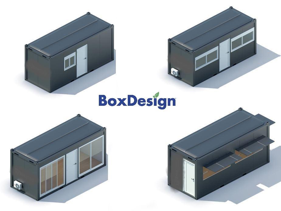 bungalow préfabriqué en stock